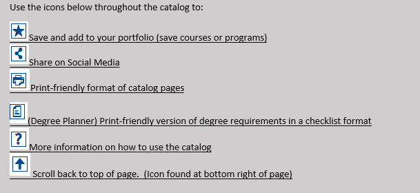 Catalog Icon Guide